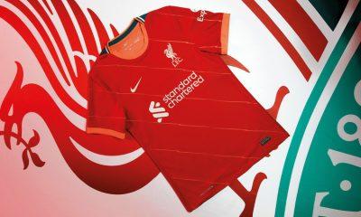 Camisas do Liverpool FC 2021-2022 Nike