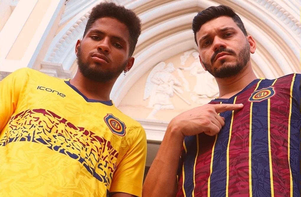 Camisas do Madureira EC 2021 Ícone Sports