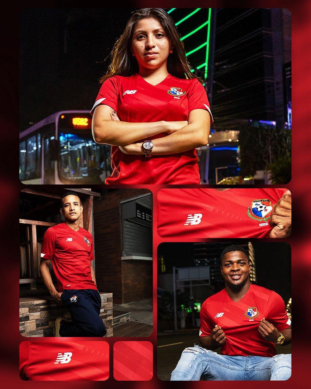 Camisas do Panamá 2021-2022 New Balance 1