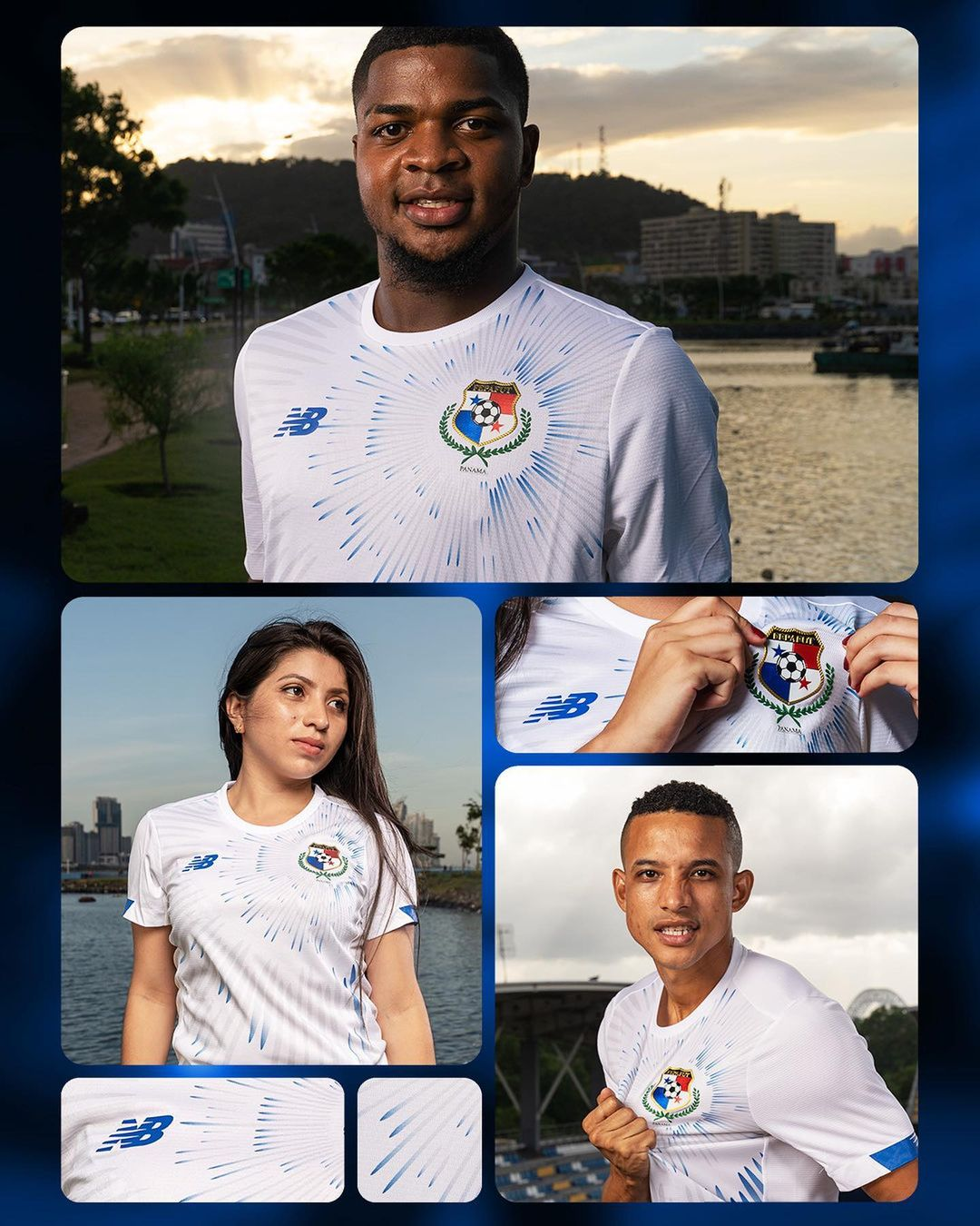 Camisas do Panamá 2021-2022 New Balance 2