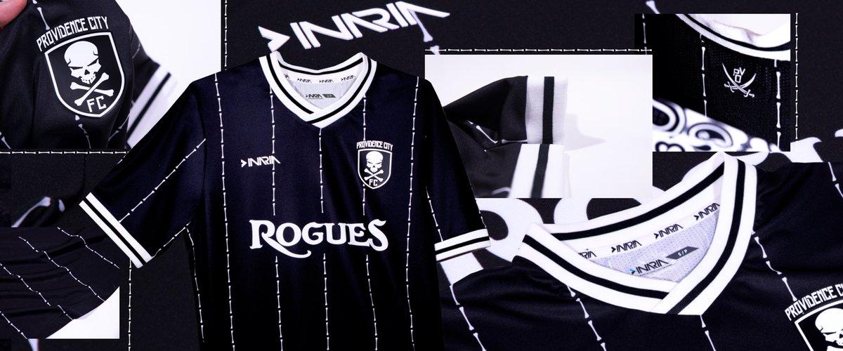 Camisas do Providence City FC 2021-2022 Inaria