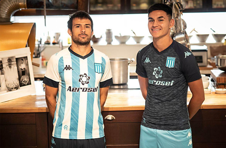 Camisas do Racing Club 2021-2022 Kappa a