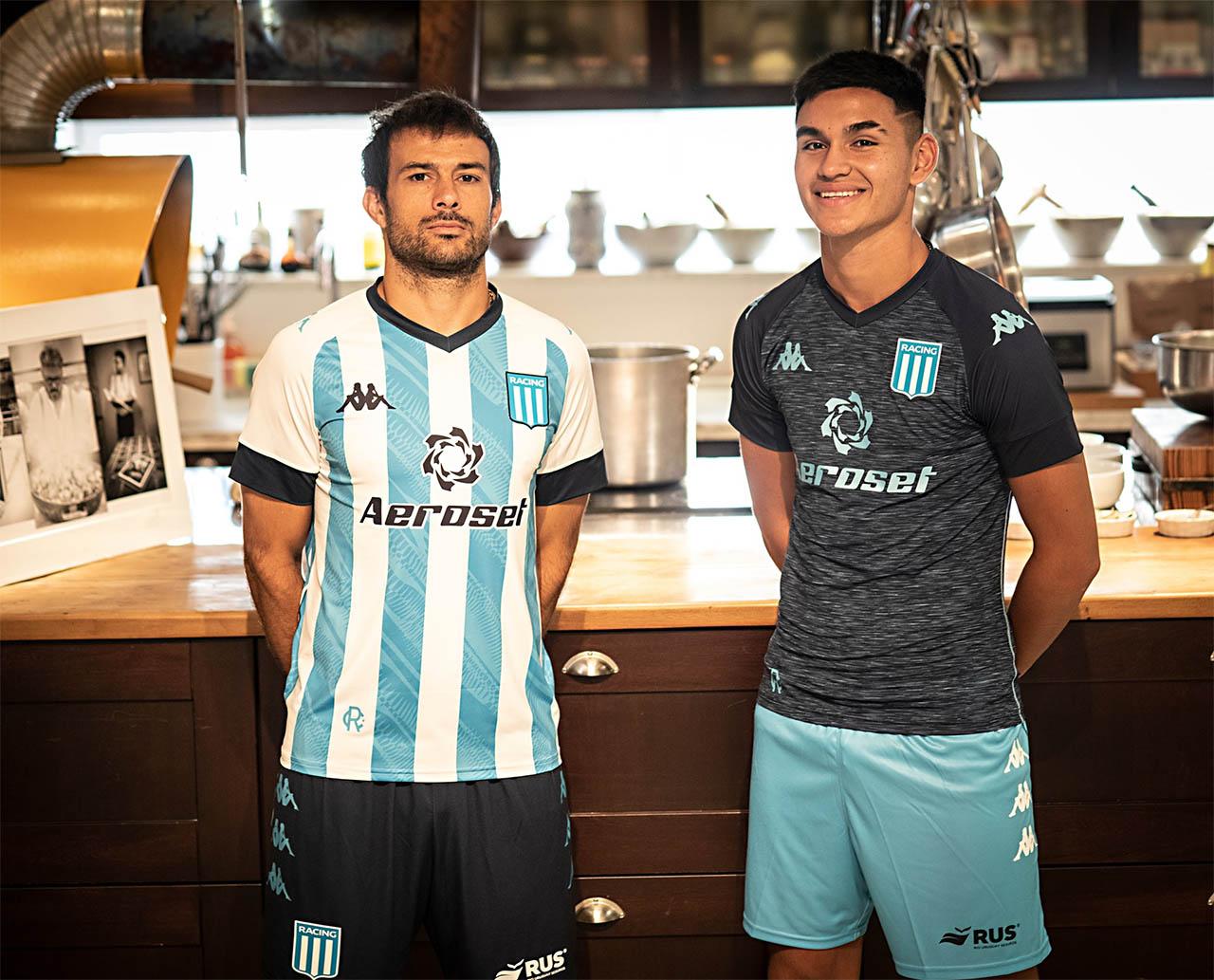 Camisas do Racing Club 2021-2022 Kappa