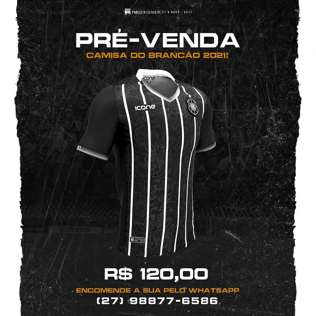 Camisas do Rio Branco-ES 2021 Ícone Sports 1