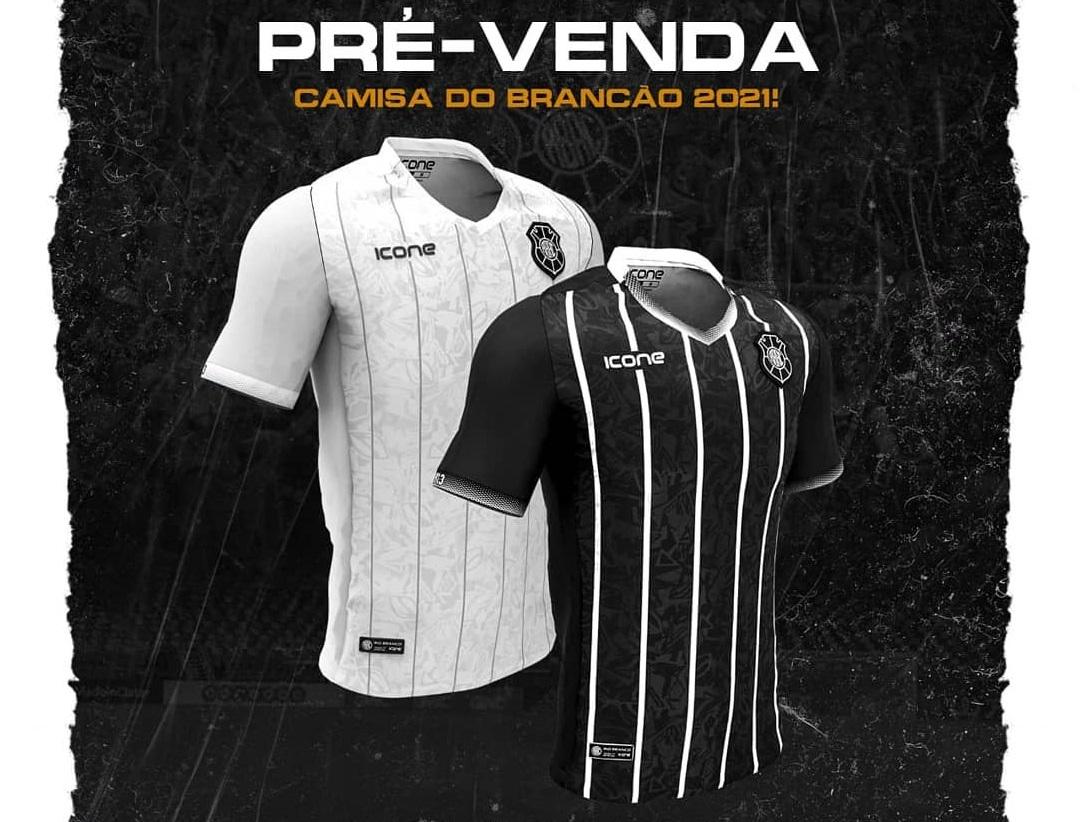 Camisas do Rio Branco-ES 2021 Ícone Sports