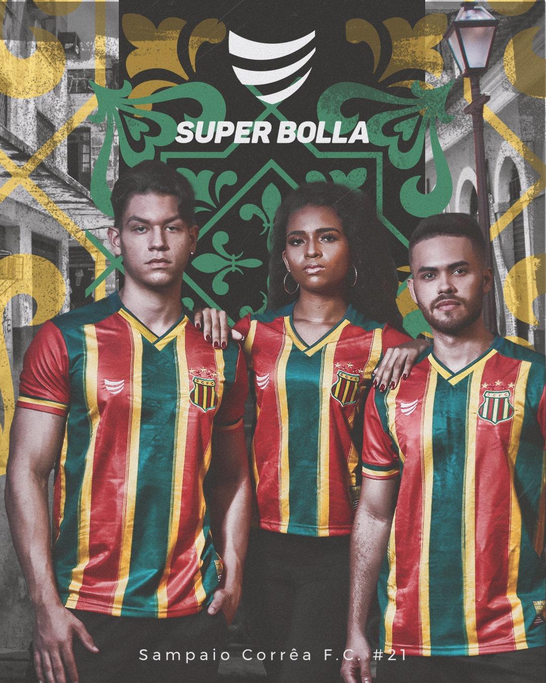 Camisas do Sampaio Corrêa 2021 Super Bolla 1