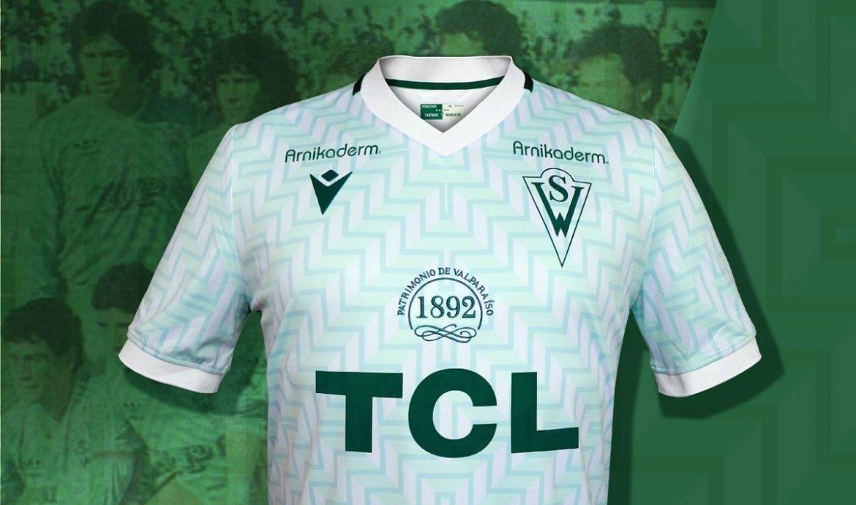 Camisas do Santiago Wanderers 2021 Macron