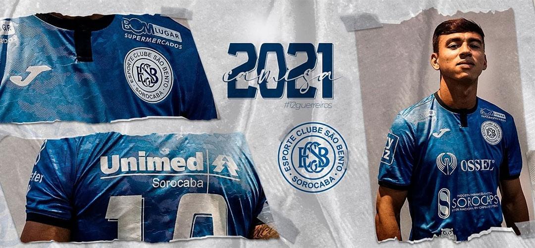 Camisas do São Bento 2021 Joma a