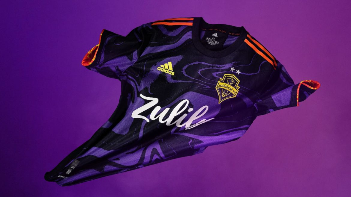 Camisas do Seattle Sounders 2021 Adidas MLS a