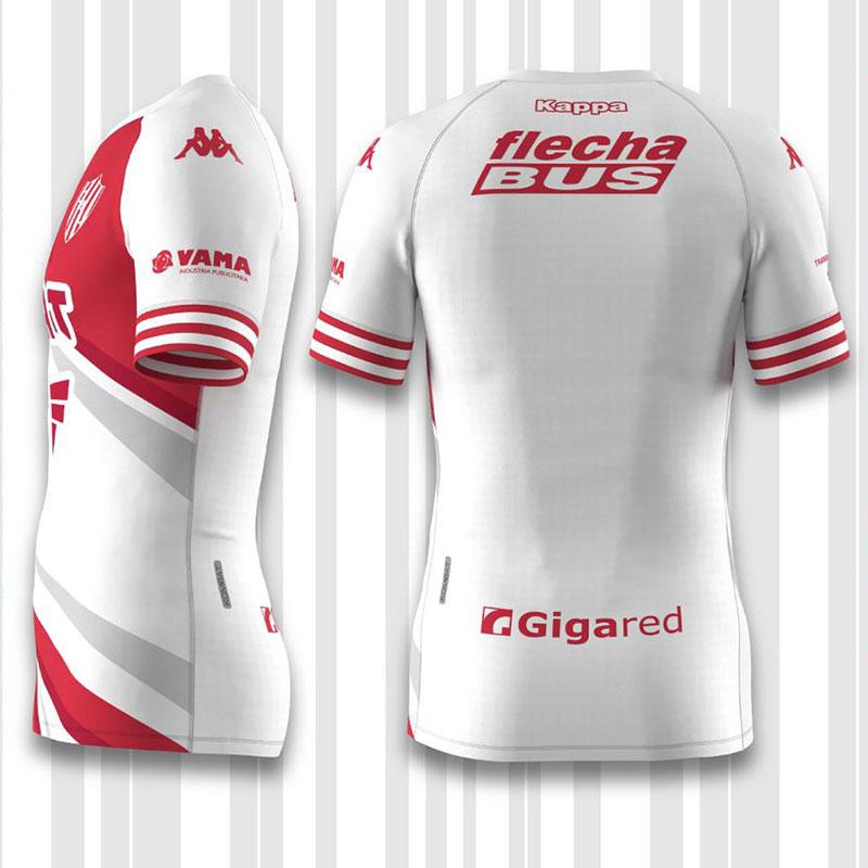 Camisas do Unión Santa Fé 2021 Kappa