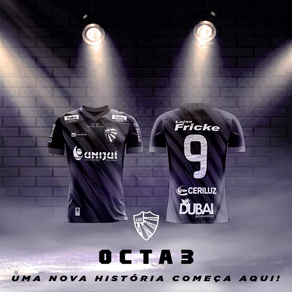 Terceira camisa do São Luiz 2021 Weefe