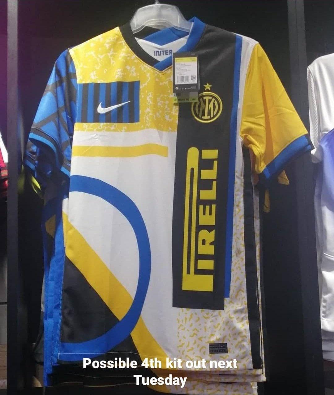 Inter de Milão quarta camisa 2020-2021