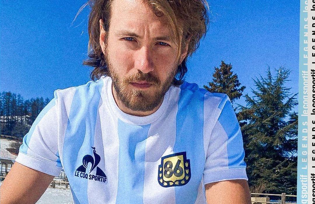Le Coq lança camisa em homenagem à Maradona