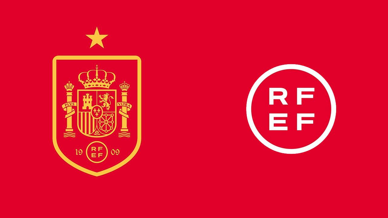 Novo escudo Seleção Espanha Novo logo RFEF