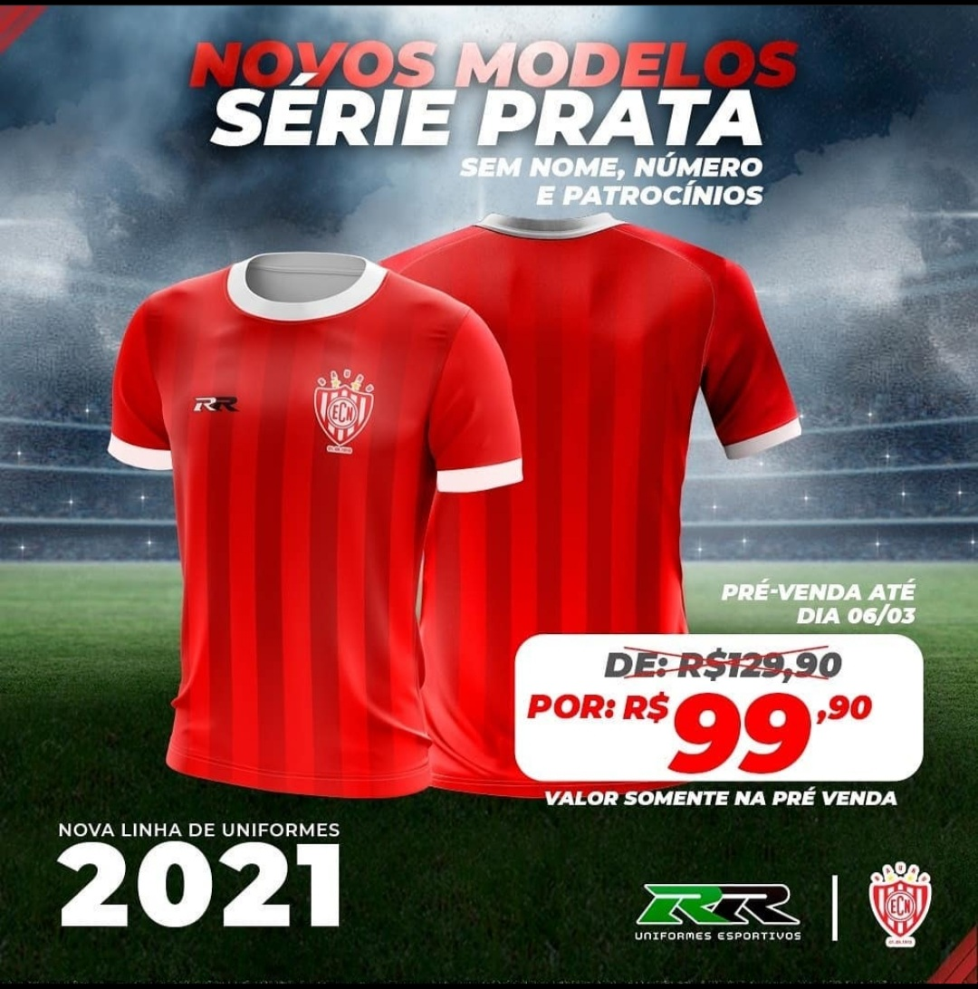 Camisas do EC Noroeste 2021 RR