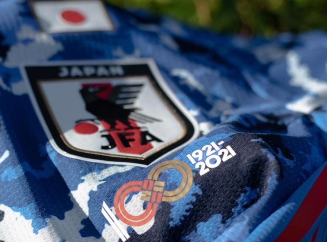 Japão usará patch de 100 anos da JFA