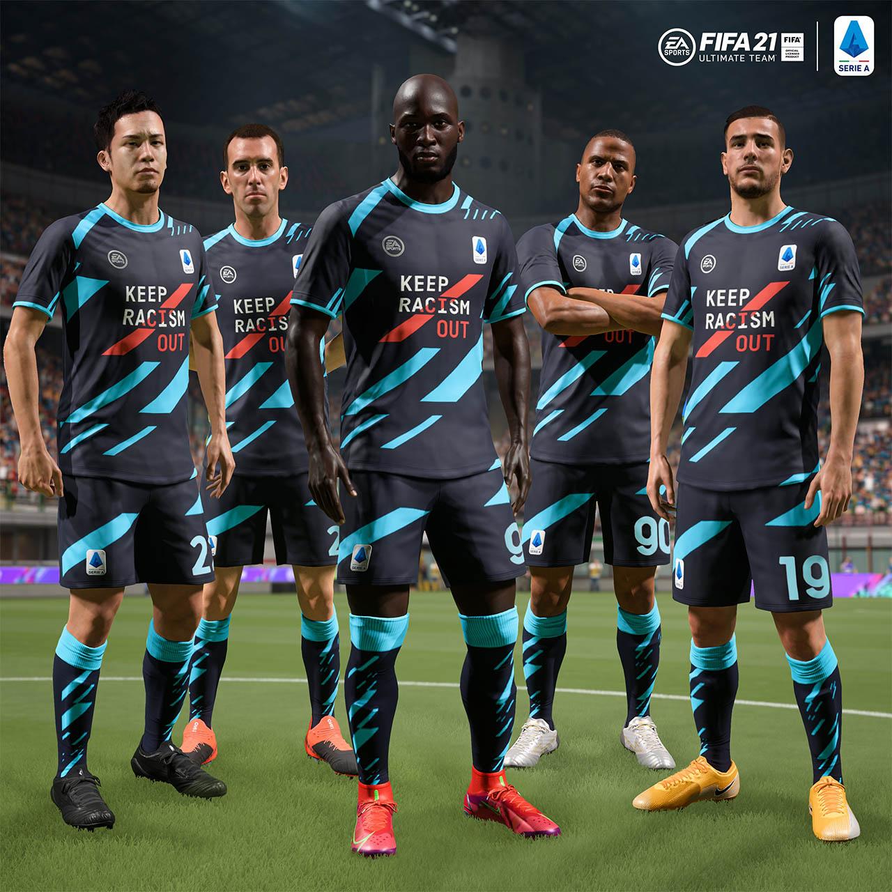 Serie A FIFA 21 Racismo