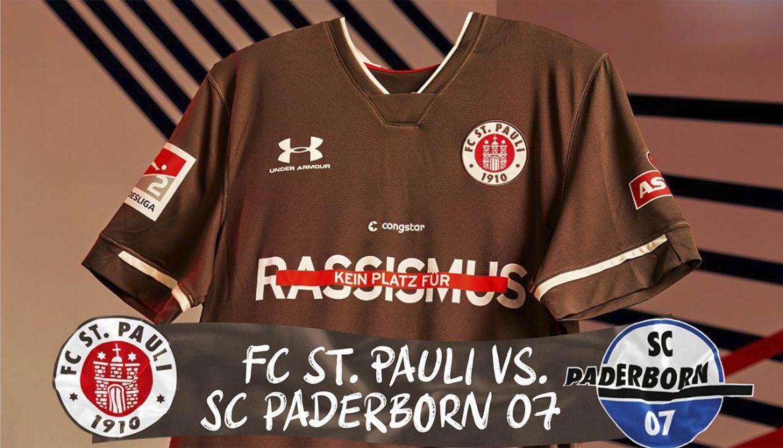 St. Pauli divulga mensagem contra o racismo em camisa contra o Paderborn