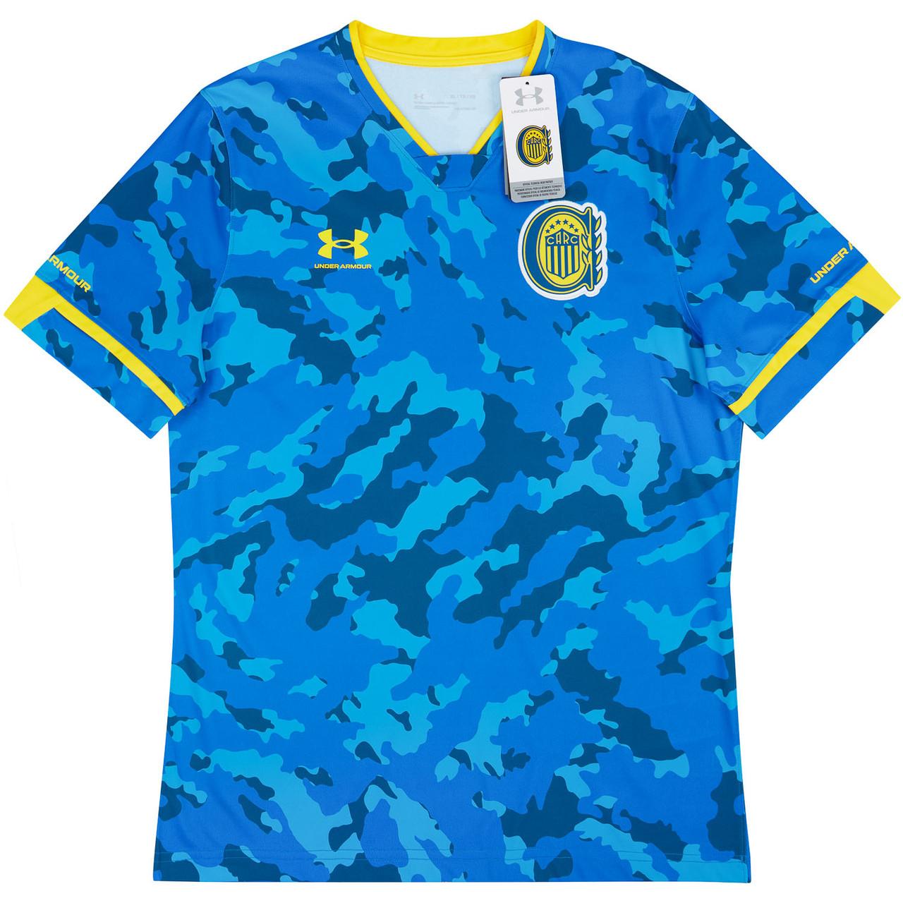 Terceira camisa do Rosario Central 2021 Under Armour
