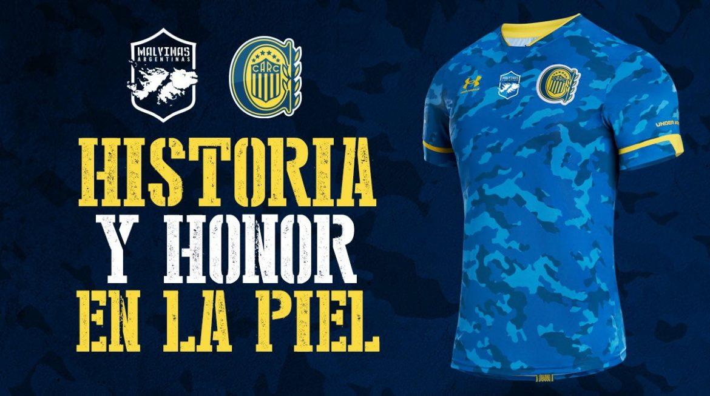 Terceira camisa do Rosario Central 2021 Under Armour a