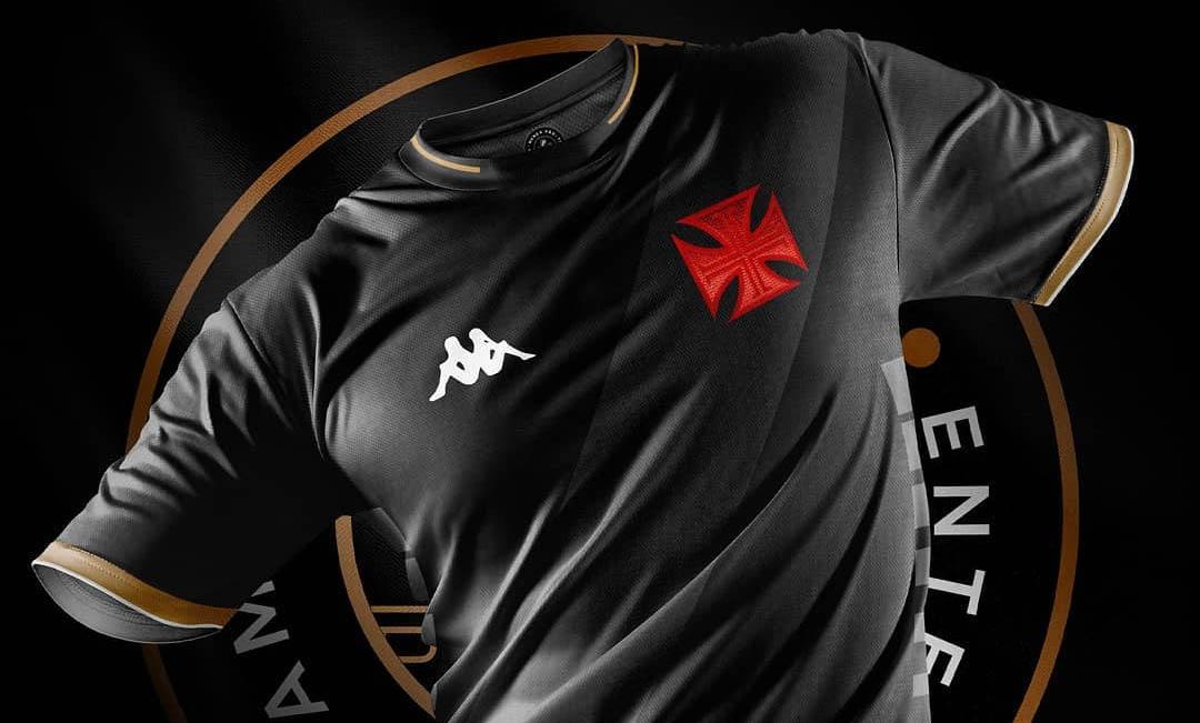Terceira camisa do Vasco da Gama 2021-2022 Kappa (Rafa Designer)