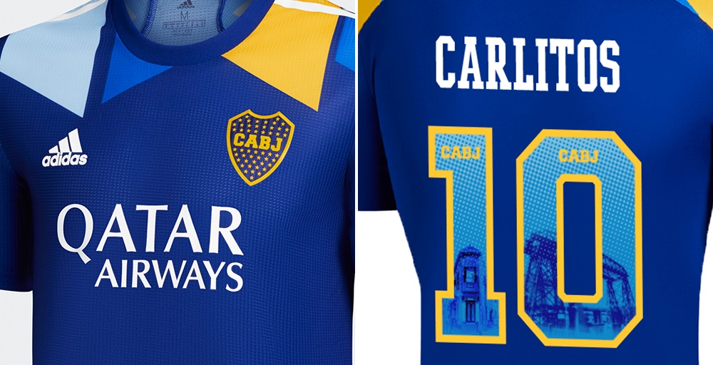 Terceira camisa do Boca Juniors 2021 Adidas