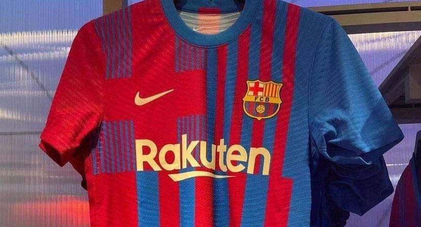 camisas do Barcelona 2021-2022 Nike a