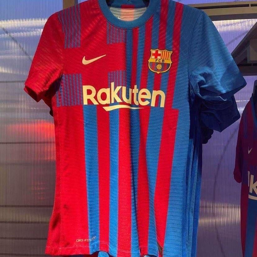 camisas do Barcelona 2021-2022 Nike
