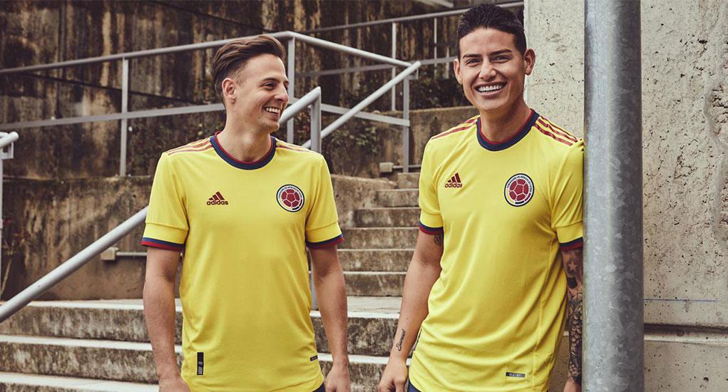 Camisas da Colômbia 2021-2022 Adidas
