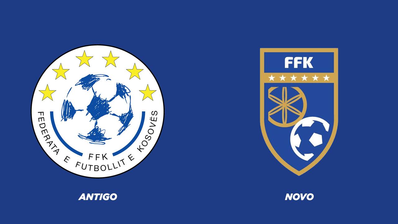 escudo FFK - Seleção de Kosovo