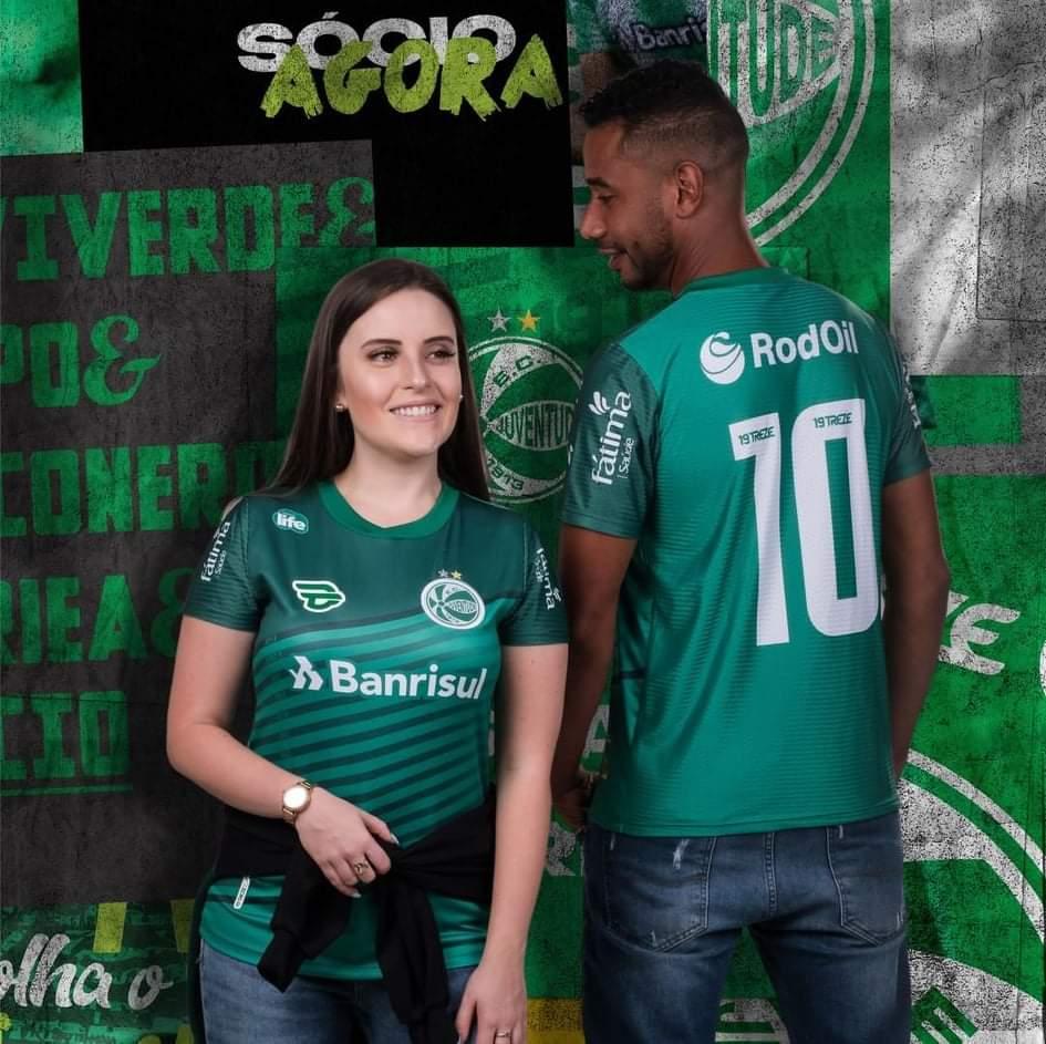 Terceira camisa do EC Juventude 2021 19Treze