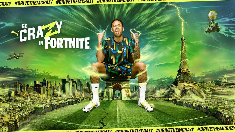 Fortnite x Neymar Jr. x PUMA Crazy Playground