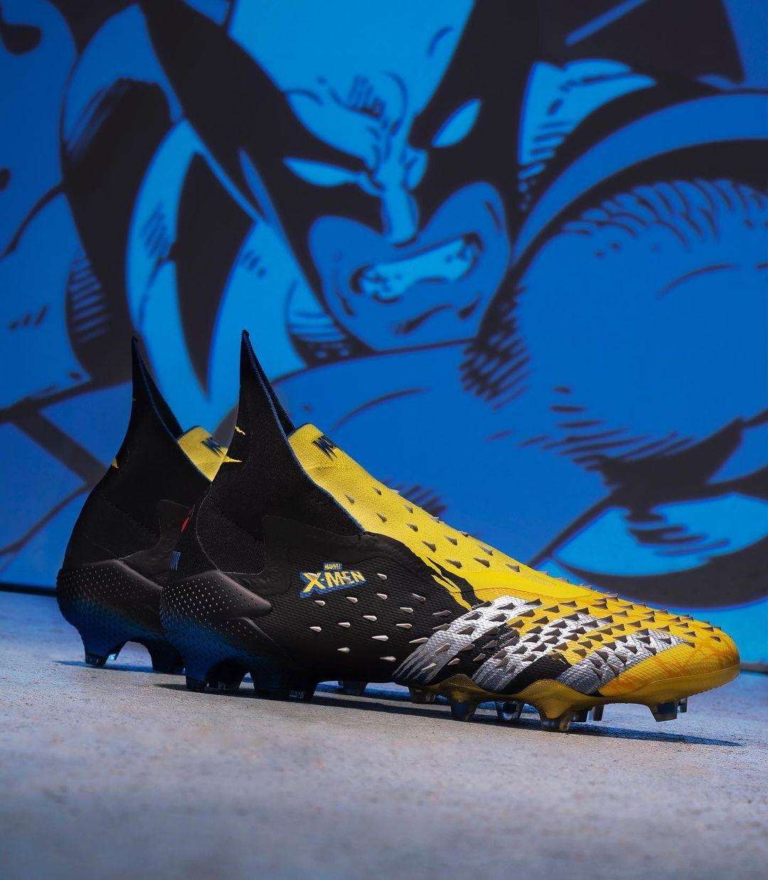Adidas e Marvel lançam chuteiras inspiradas em Wolverine e Ciclope 1
