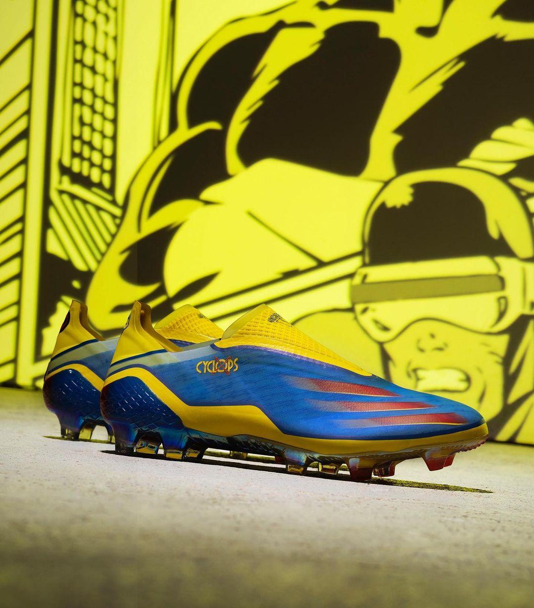 Adidas e Marvel lançam chuteiras inspiradas em Wolverine e Ciclope 2