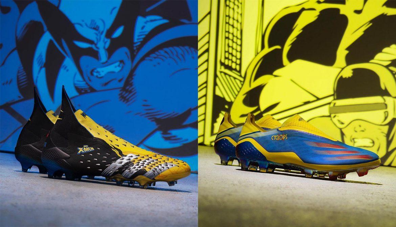 Adidas e Marvel lançam chuteiras inspiradas em Wolverine e Ciclope a