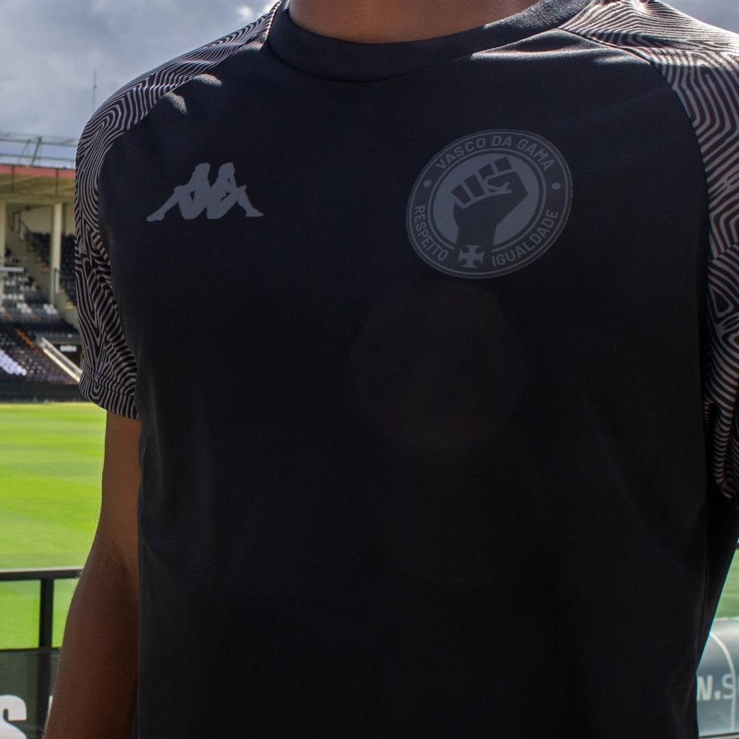 Camisa All Black do Vasco da Gama 2021 Kappa