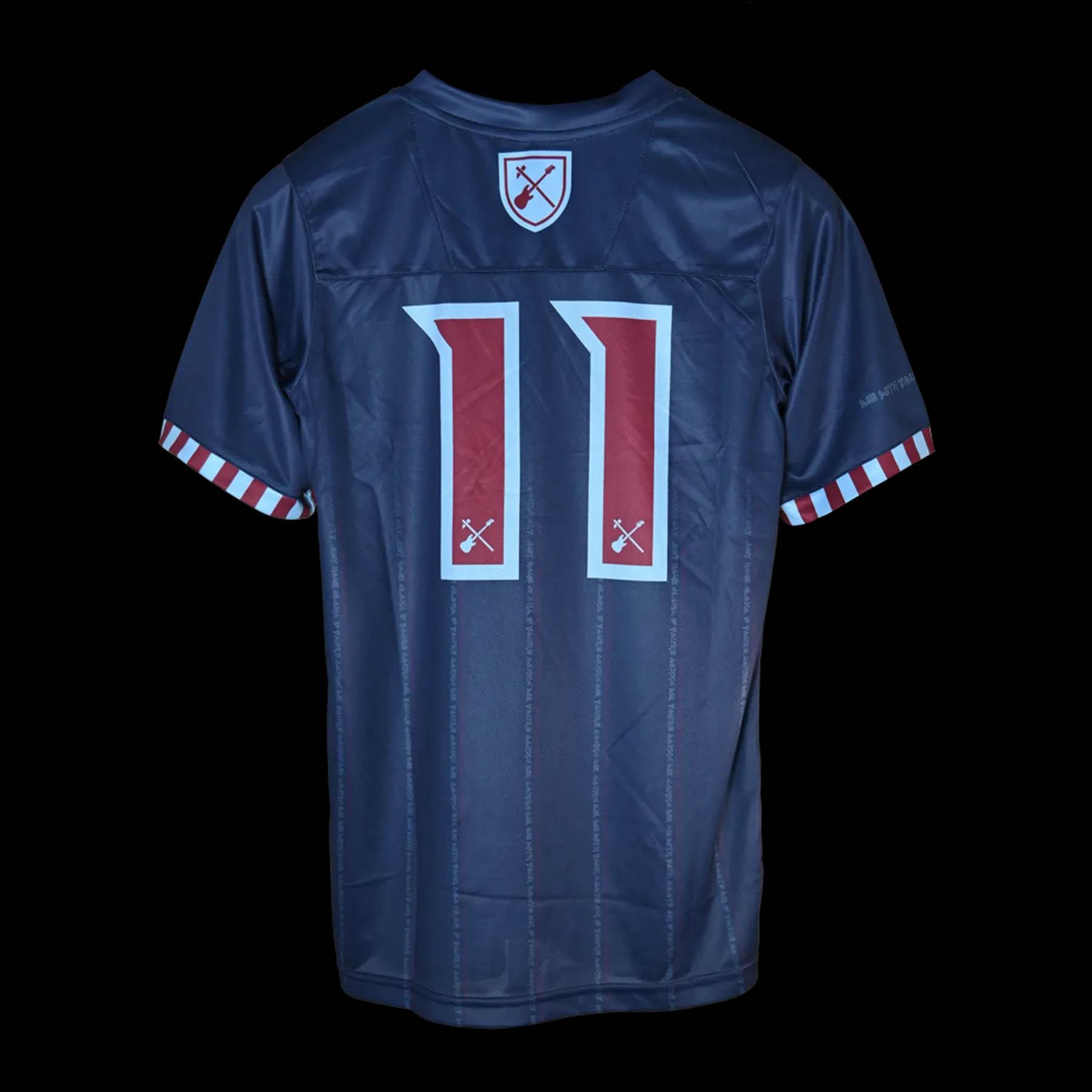 Camisa Iron Maiden x West Ham Away 2021-2022 kit