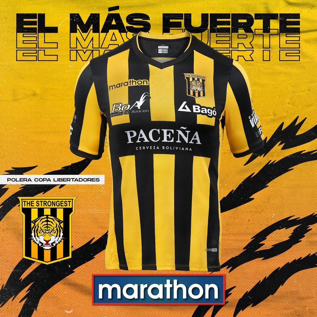 Camisa Libertadores do The Strongest 2021 Marathon