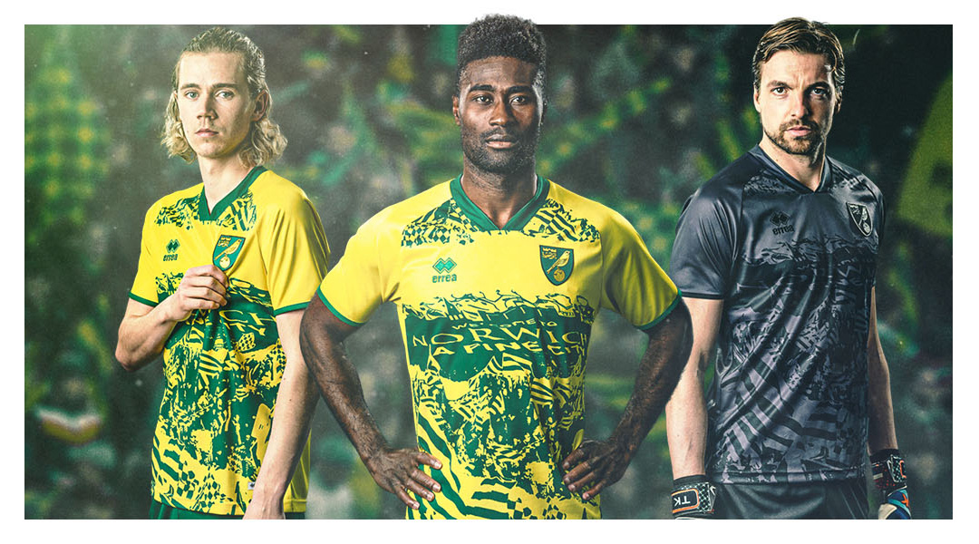 Camisa To The Fans Norwich 2021 Erreà a