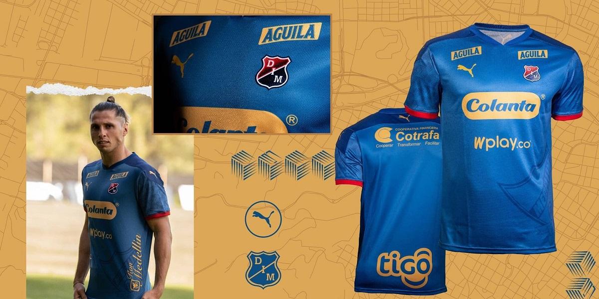 Camisa de 107 anos do Independiente Medellín 2021 PUMA