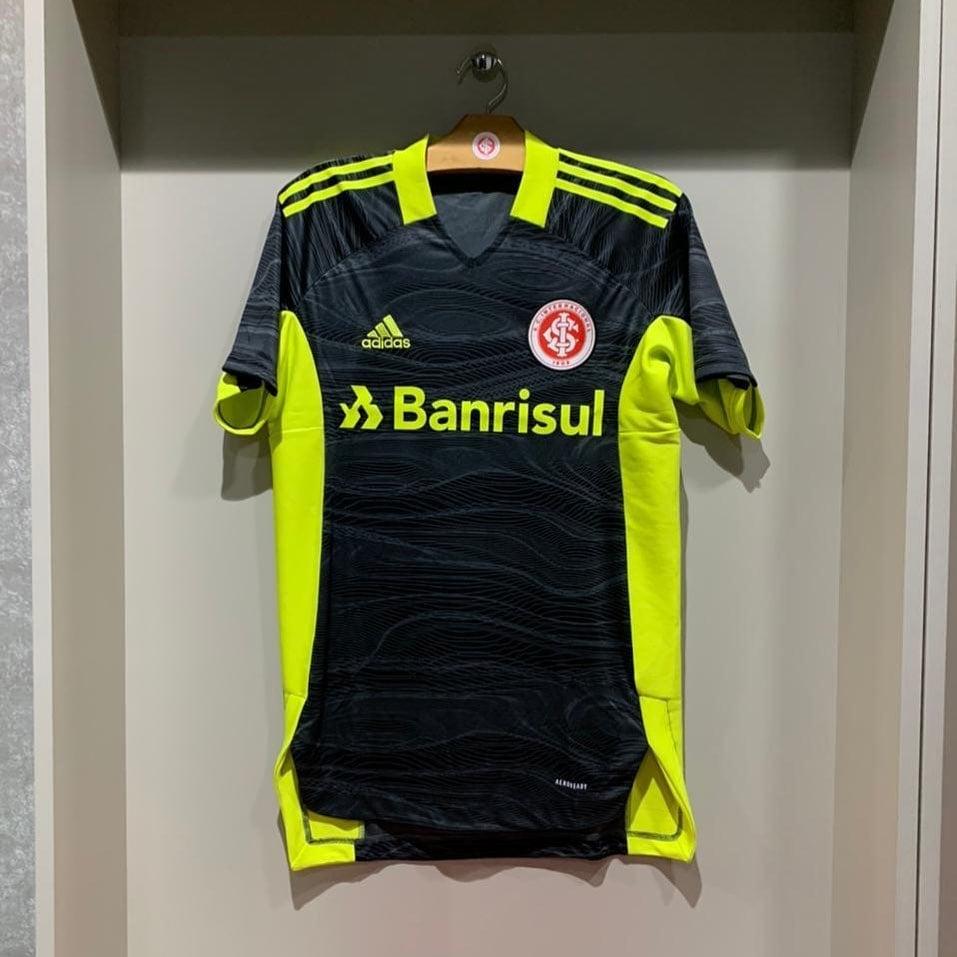 Camisa de goleiro do Internacional 2021-2022 Adidas 3