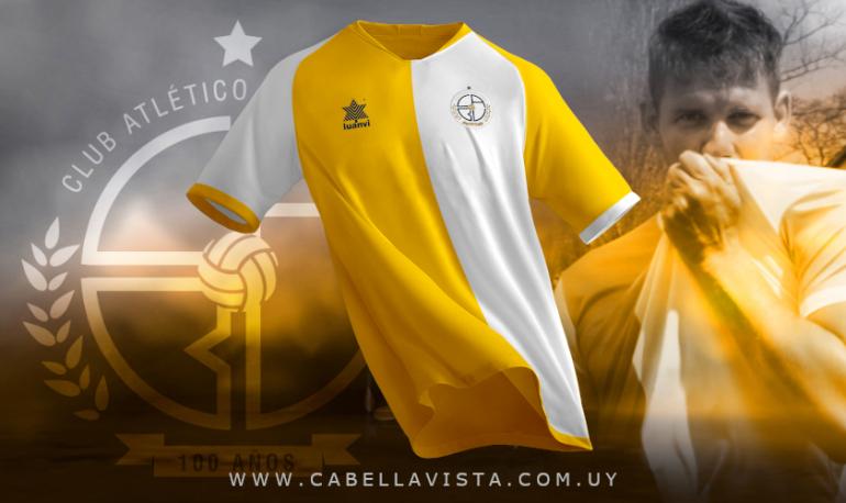 Camisa do centenário do CA Bella Vista 2021 Luanvi