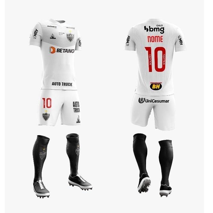 Camisa reserva do Atlético Mineiro 2021 Le Coq Sportif