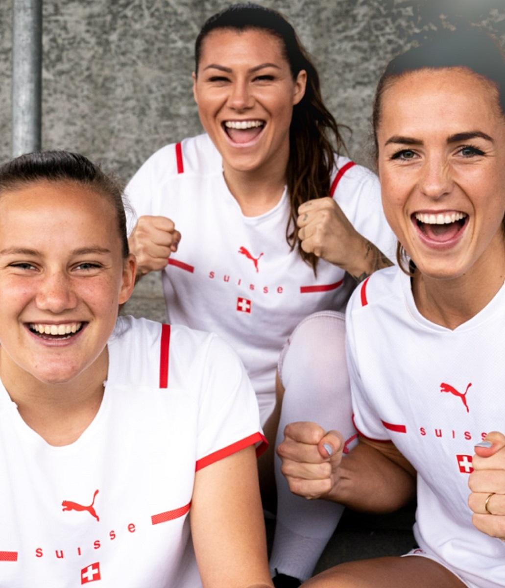 Camisas da Suíça 2021-2022 PUMA