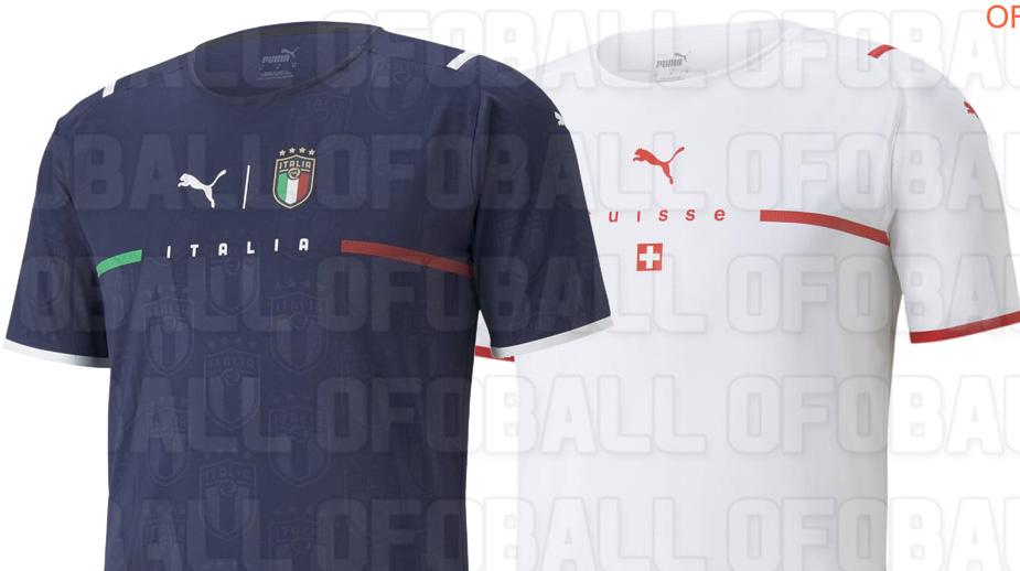 Camisas das seleções PUMA 2021-2022