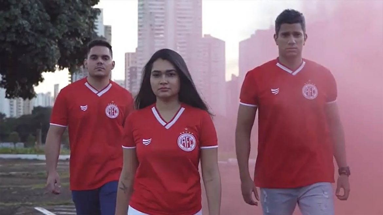 Camisas do América de Natal 2021 Super Bolla Titular