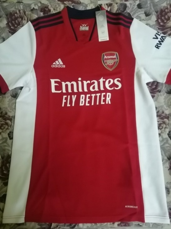 Camisas do Arsenal 2021-2022 Adidas