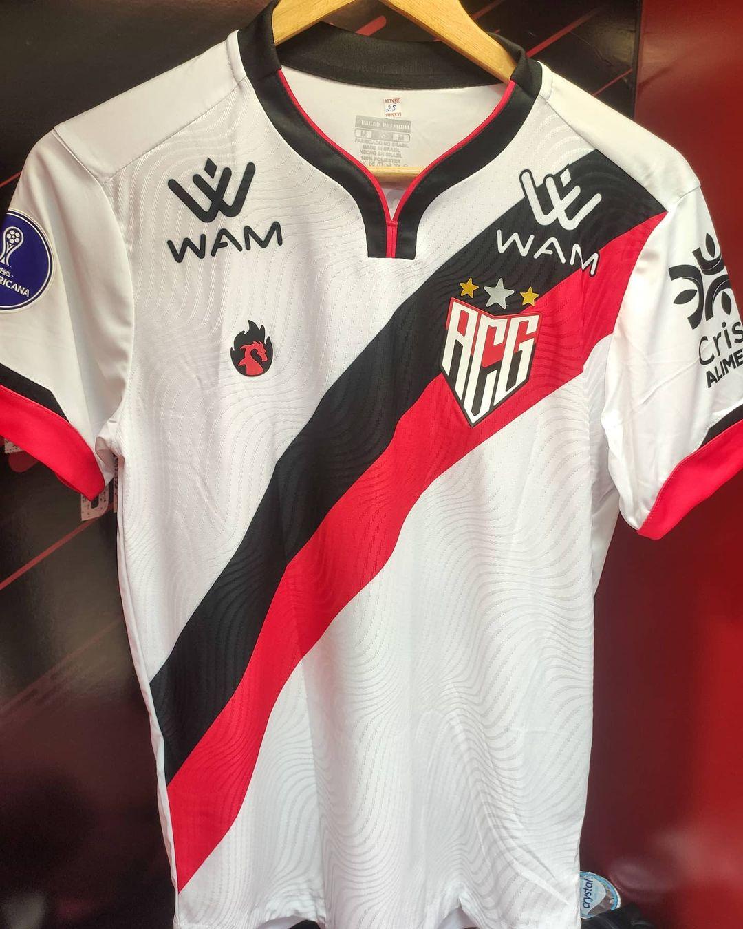 Camisas do Atlético Goianiense 2021 Dragão Premium