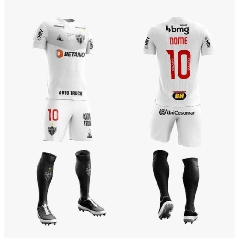 Camisas do Atlético Mineiro 2021 Le Coq Sportif