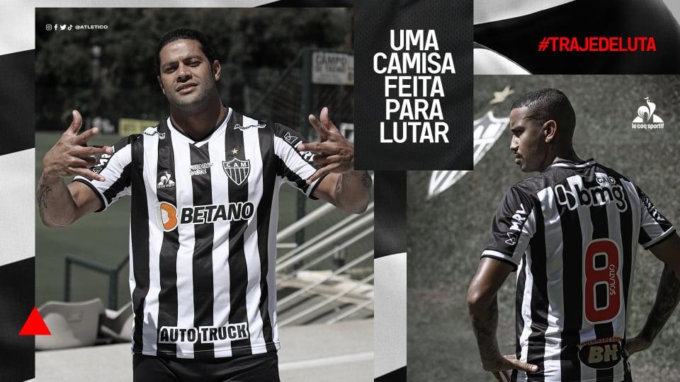 Camisas do Atlético Mineiro 2021 Le Coq Sportif a